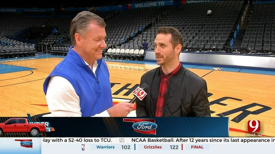 Thunder Reporter Steve McGehee Chats with ESPN's Royce Young