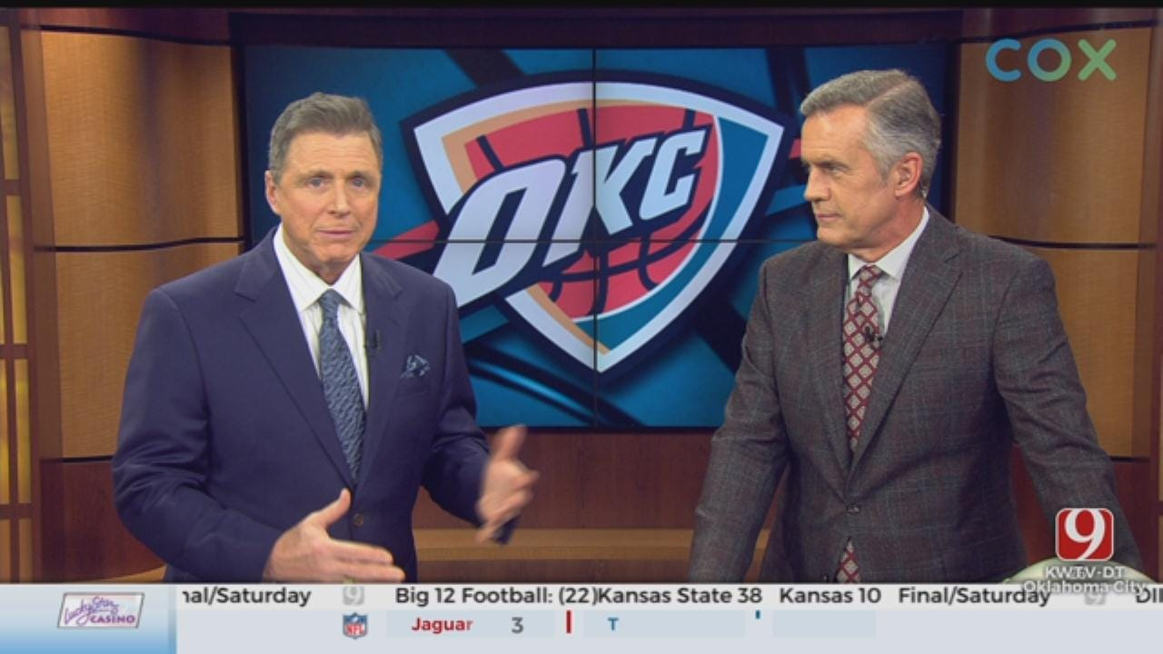 Dean's Early Impression Of OKC Thunder After Double Digit Win Against New Orleans
