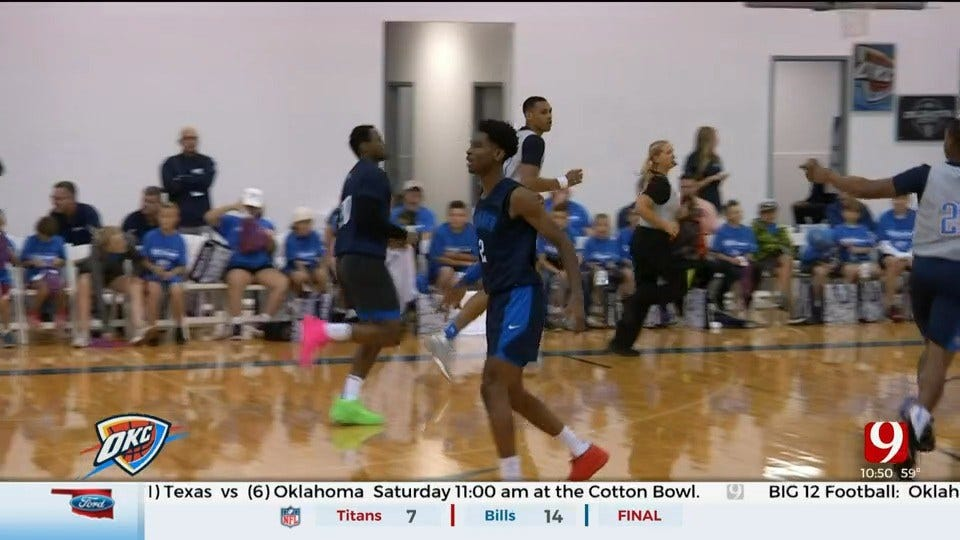 Highlights From OKC Thunder's Blue-White Scrimmage