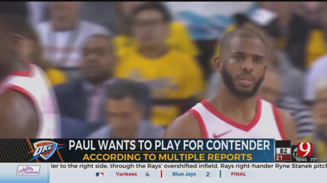 Thunder Trades For Chris Paul.. But What's Next?