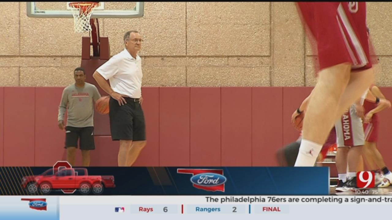 OU Basketball Practice Update