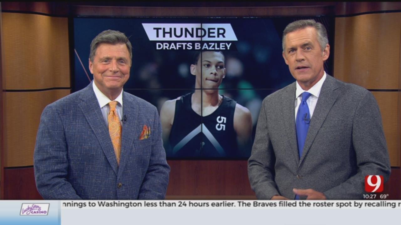 Oklahoma City Thunder Selects Darius Bazley In NBA Draft