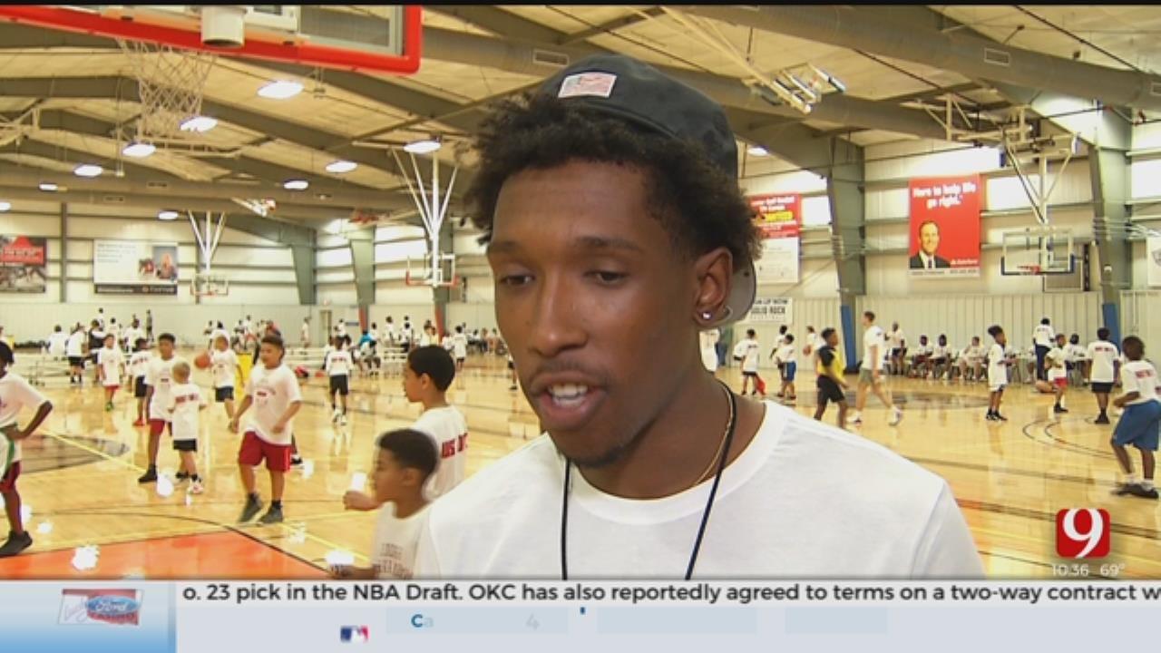 Miami Heat's Josh Richardson Hosts Basketball Camp In Edmond