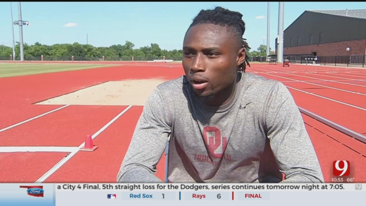 OU Track Star From Africa, Papay Glaywulu, Finds Home In Norman