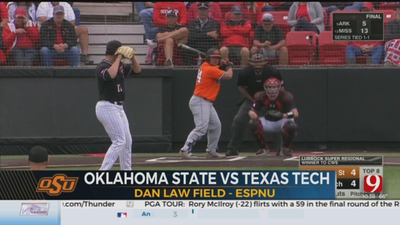 OSU Baseball Falls To Texas Tech In Super Regional Championship