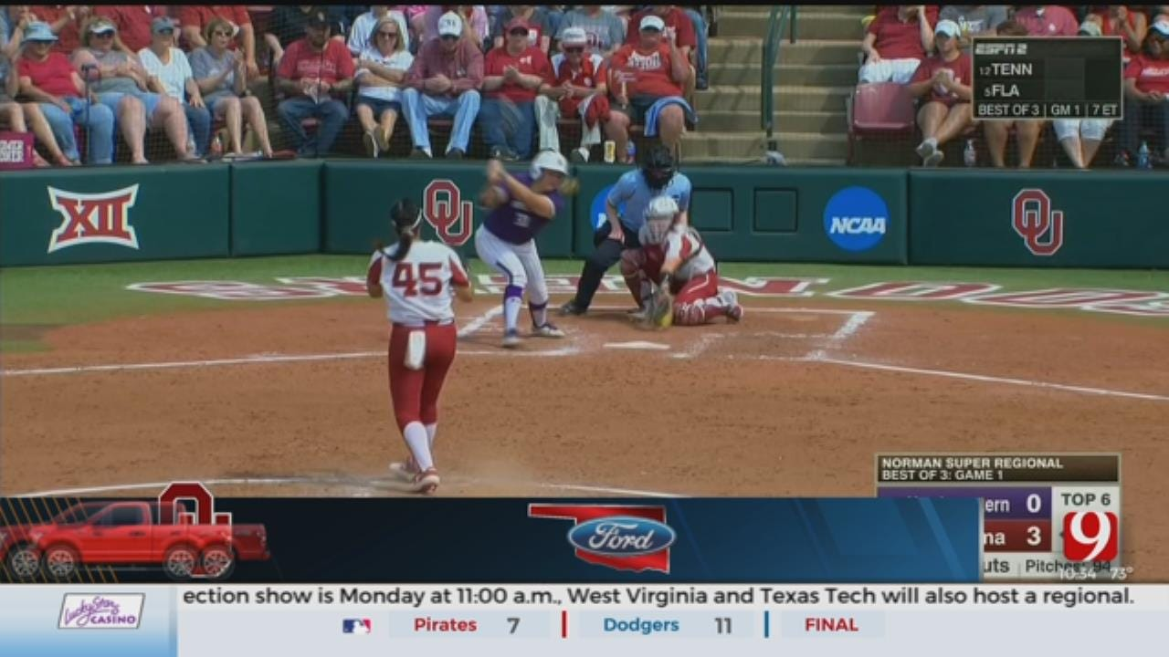 OU & OSU softball both headed to the WCWS for the first time since 2011