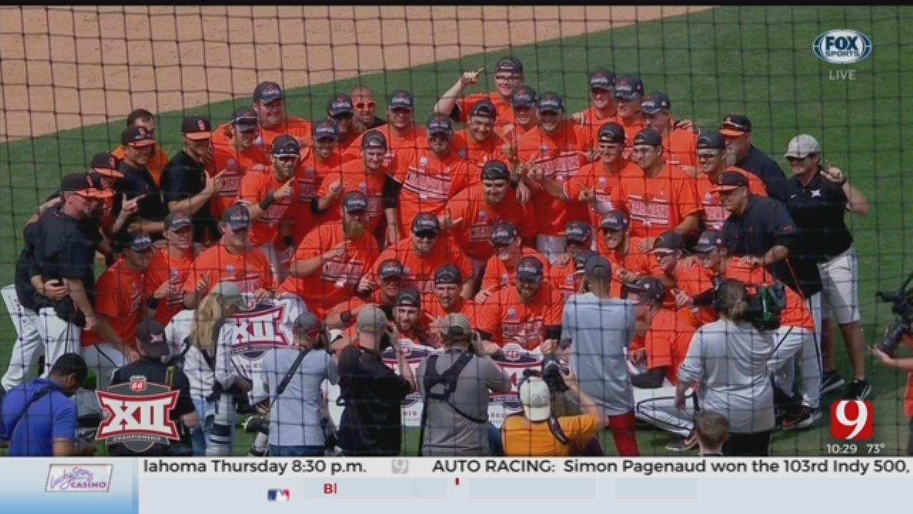 Oklahoma State wins the Big 12 Baseball Championship