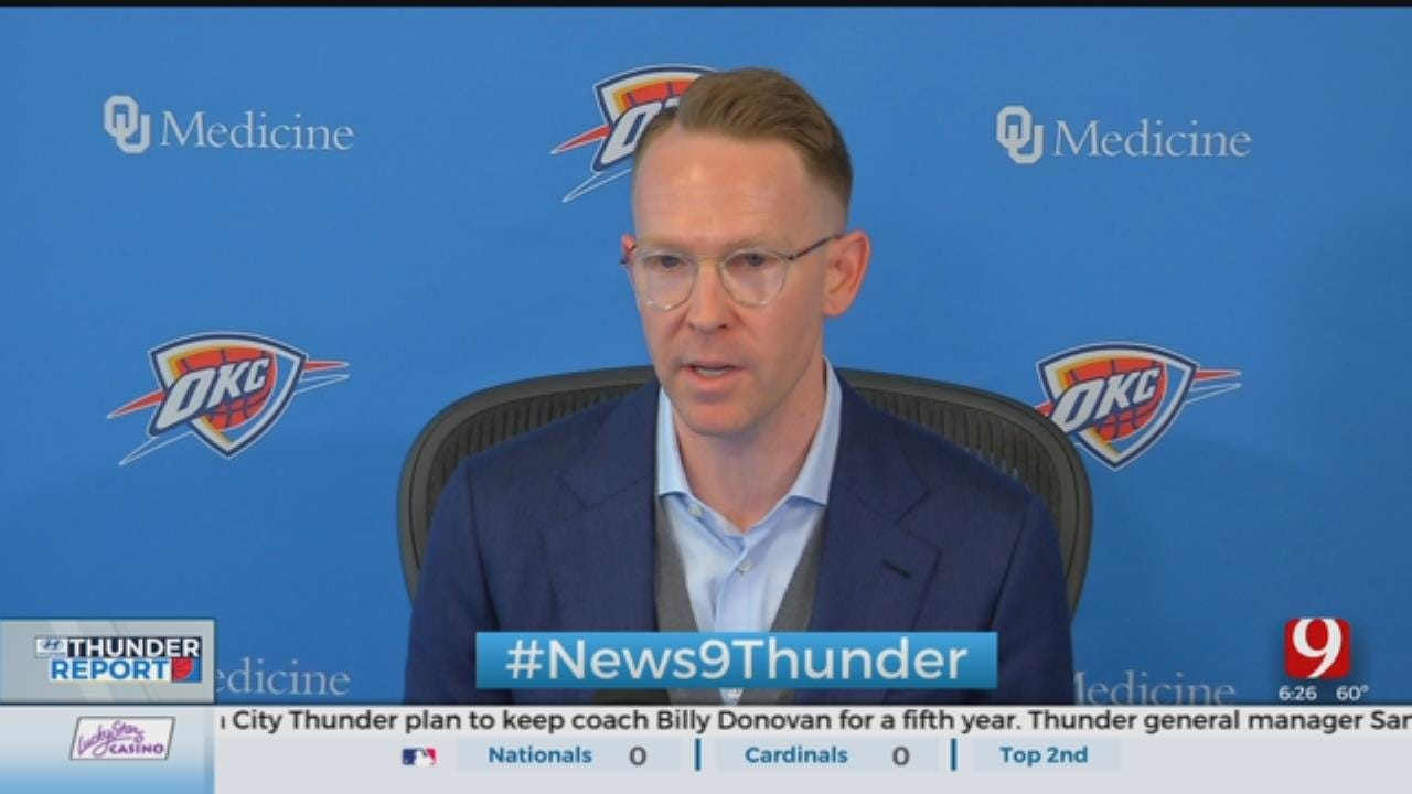Sam Presti Touches On Russell Westbrook At Monday's Exit Interview