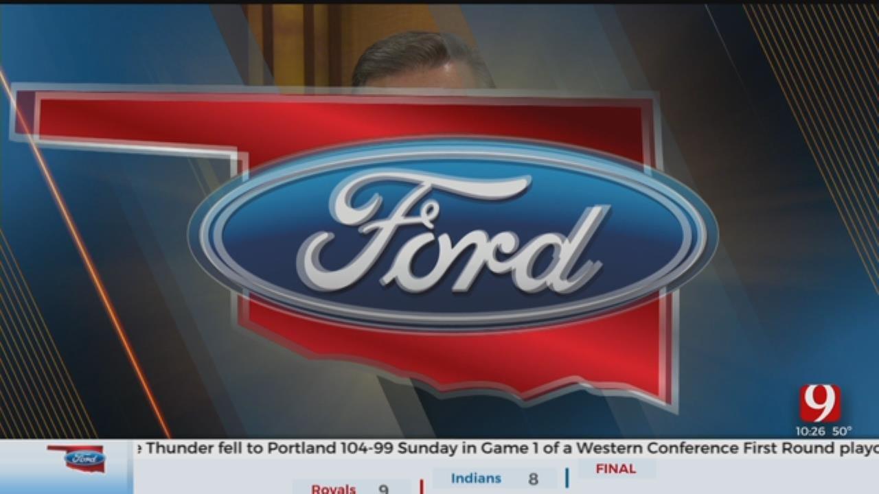 Oklahoma Ford Sports Blitz: April 14