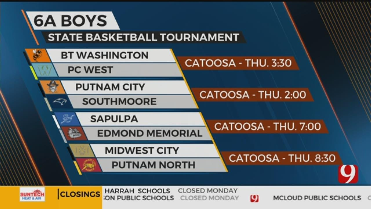 High School Basketball State Tournament Roundup