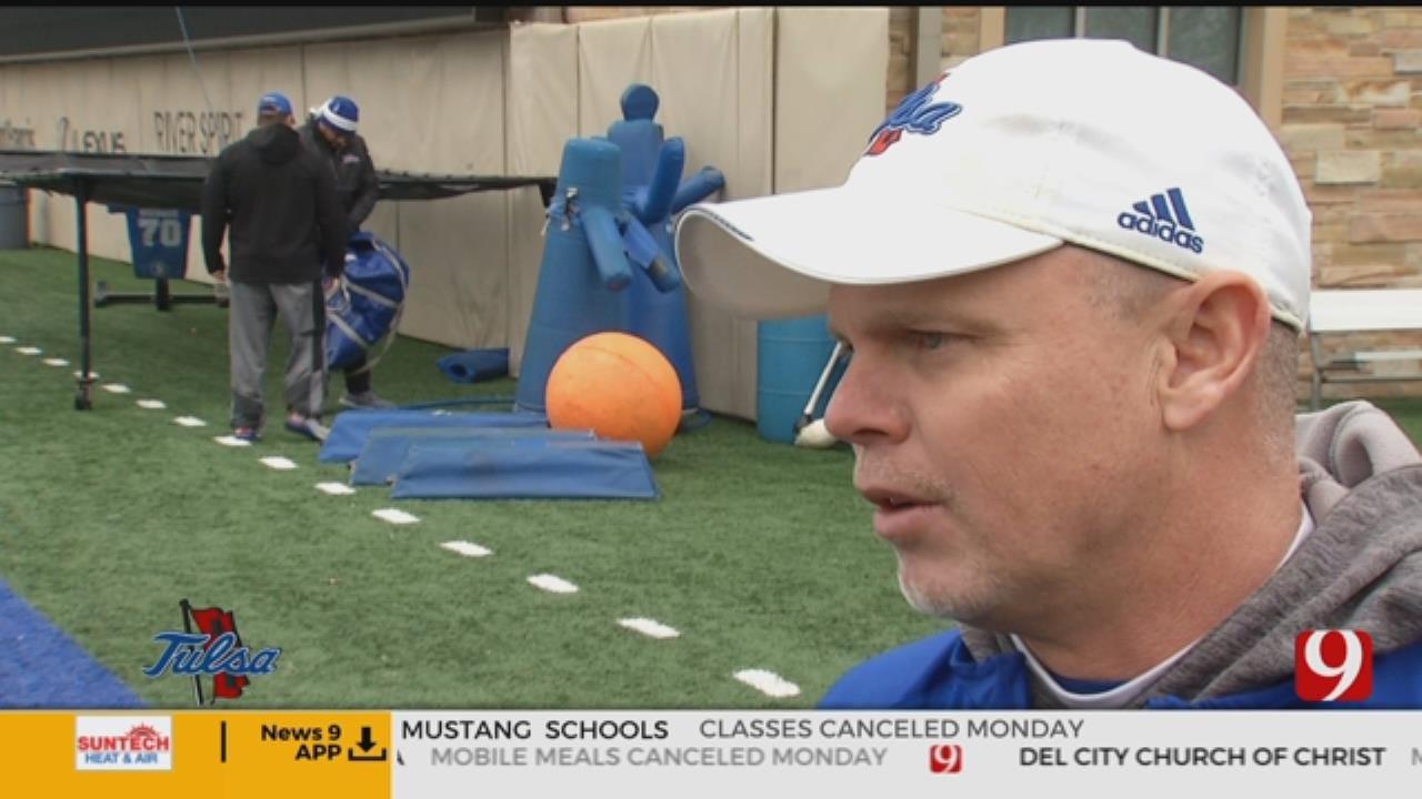 Tulsa Football Begins Spring Practice