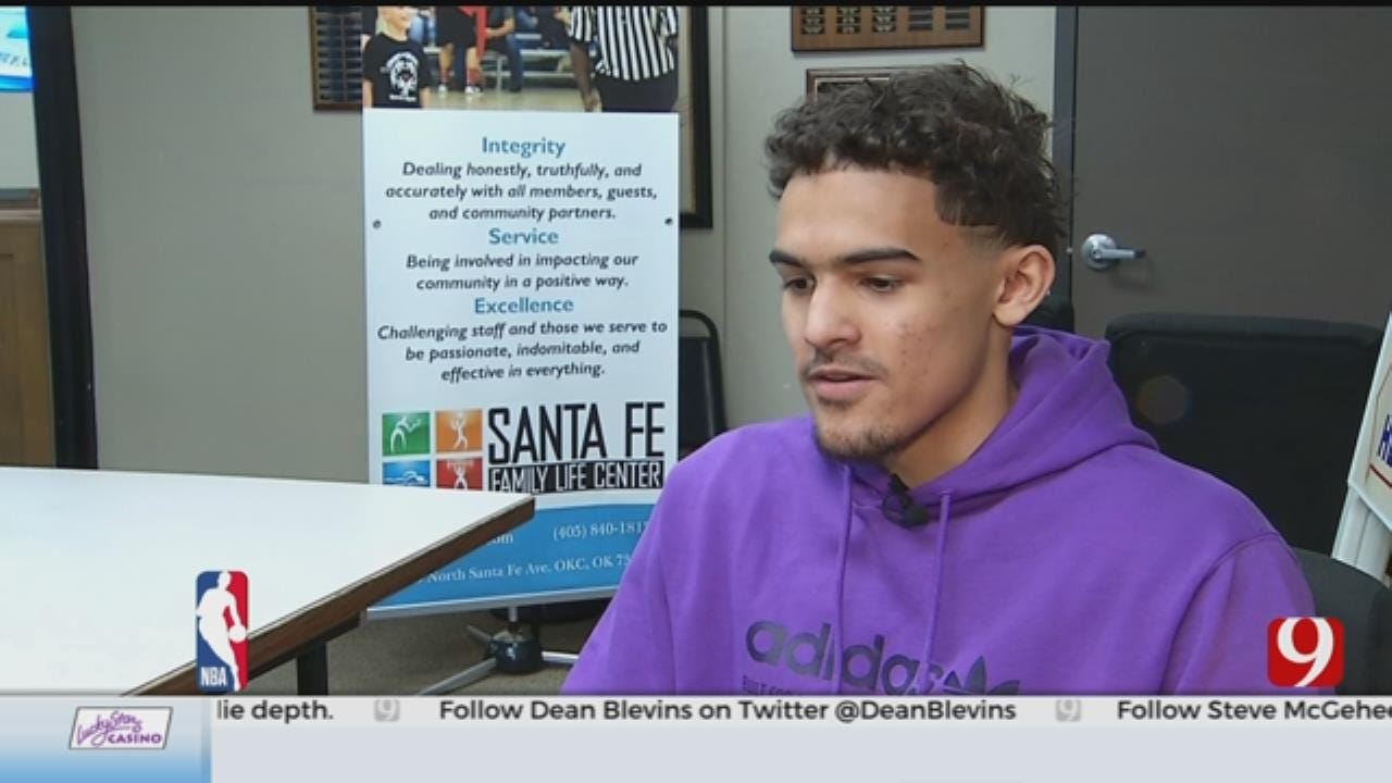 Dean Catches Up With Trae Young