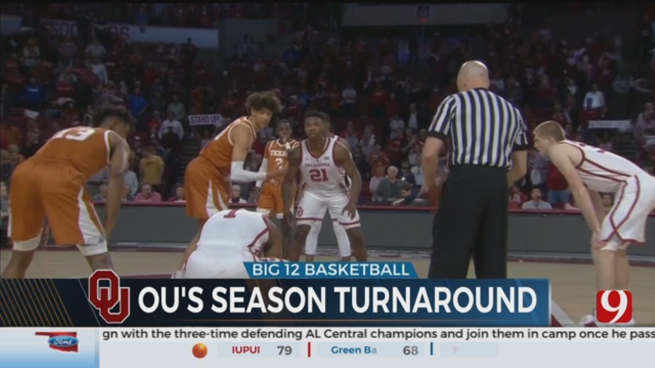 OU Men's Basketball Picks Up Big Win Over Texas
