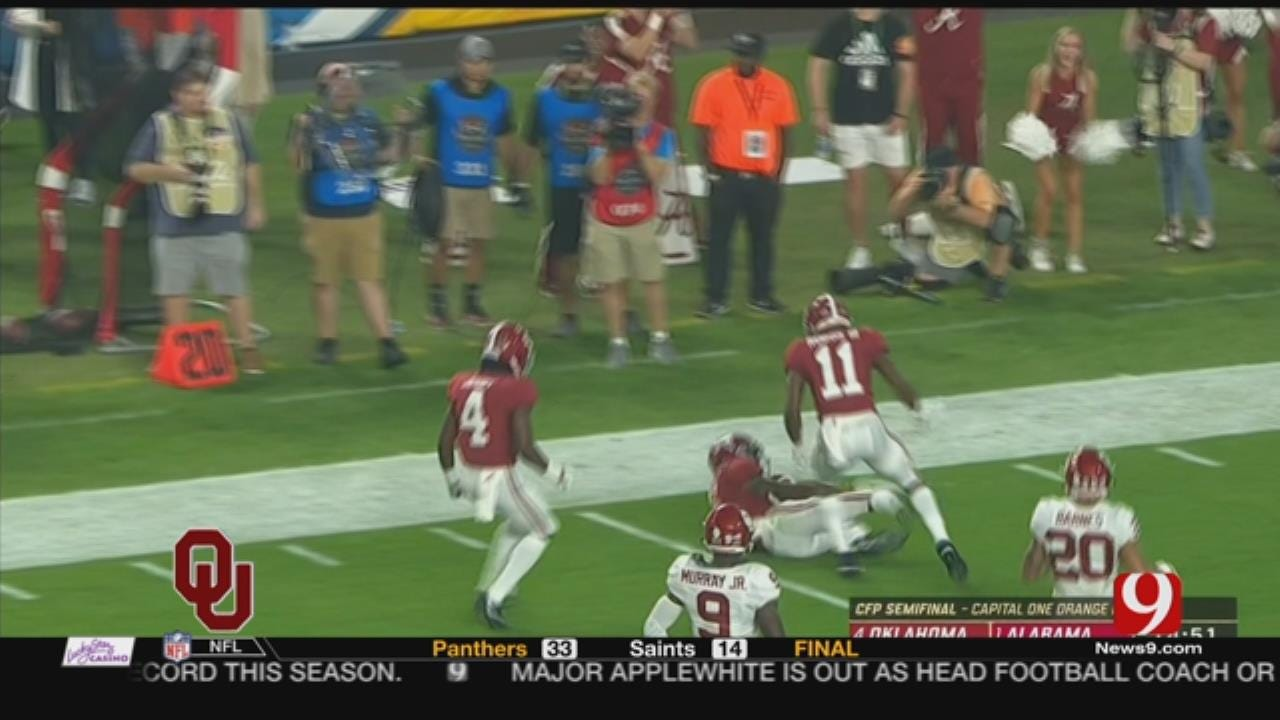 Recap Of OU's Loss To Bama In The 2018 Orange Bowl