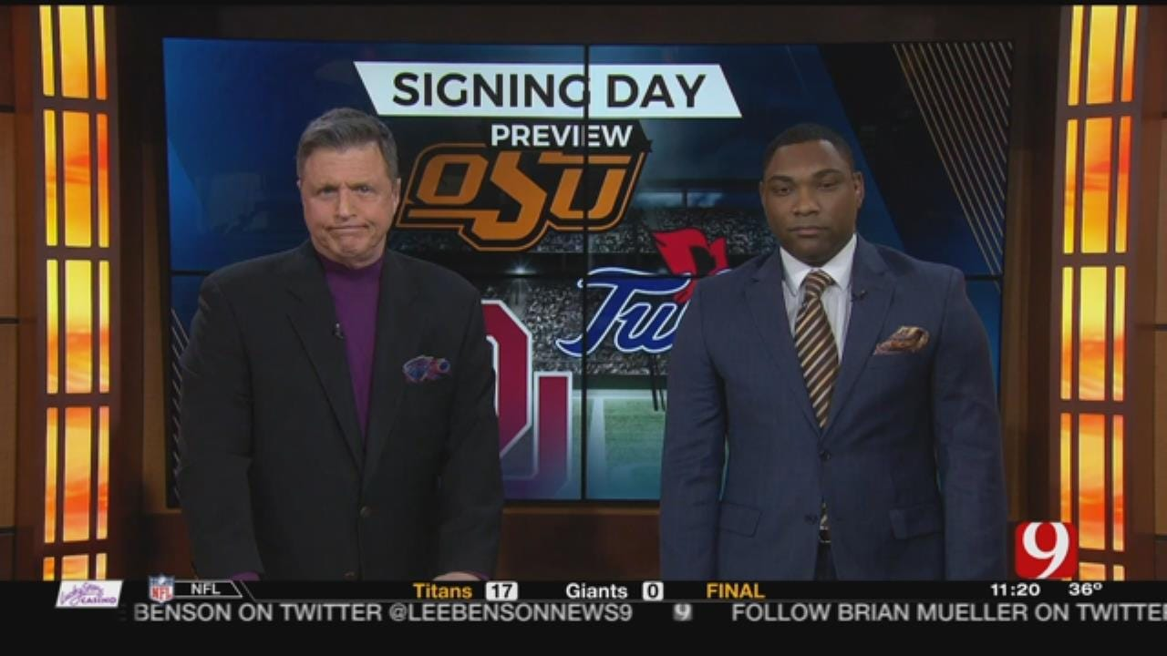 OU, OSU and Tulsa Prep For National Signing Day