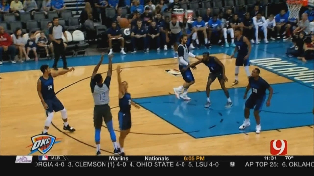Thunder Holds Annual Blue And White Scrimmage