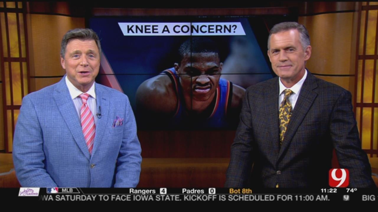 Westbrook's Knee Concerns