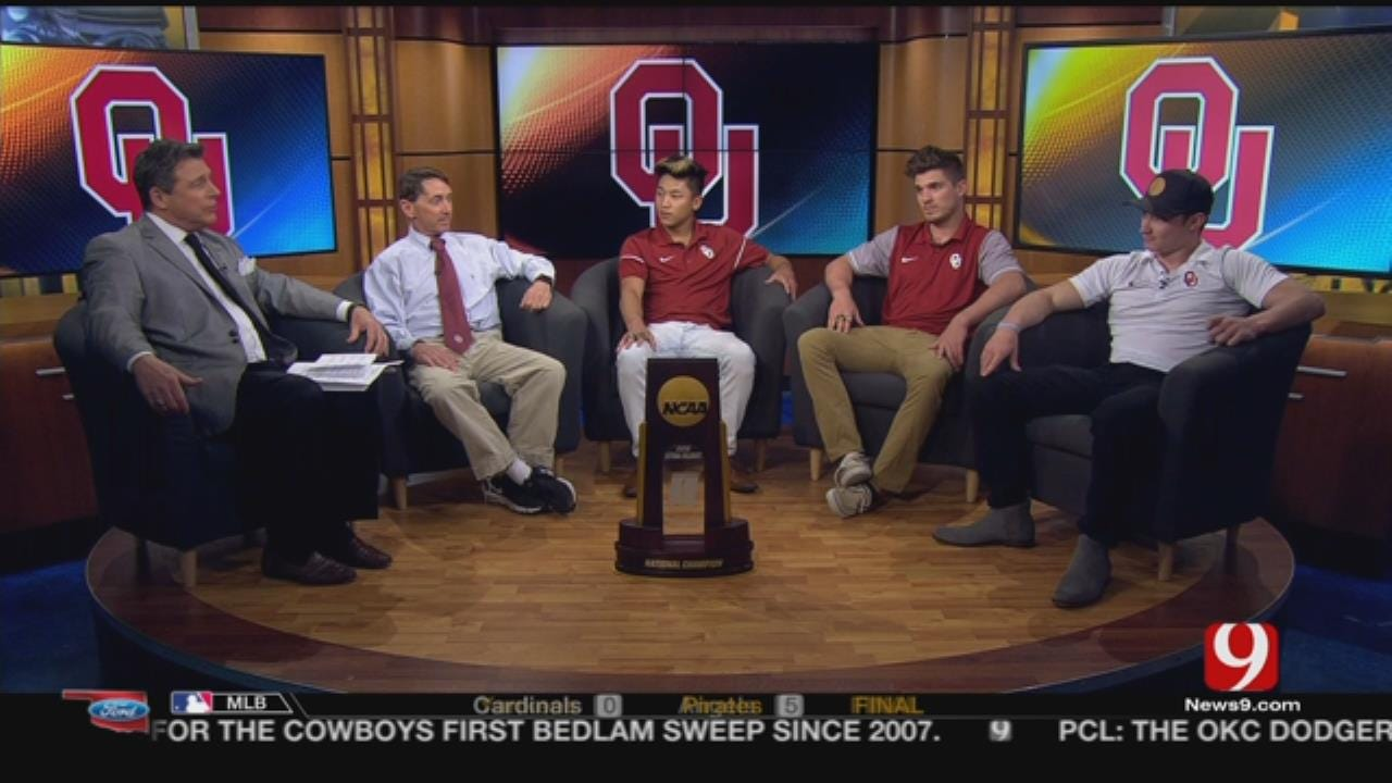 Members Of The OU Gymnastics Team Join The Sports Blitz
