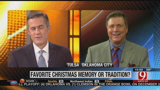 Winning Call: Favorite Christmas Tradition