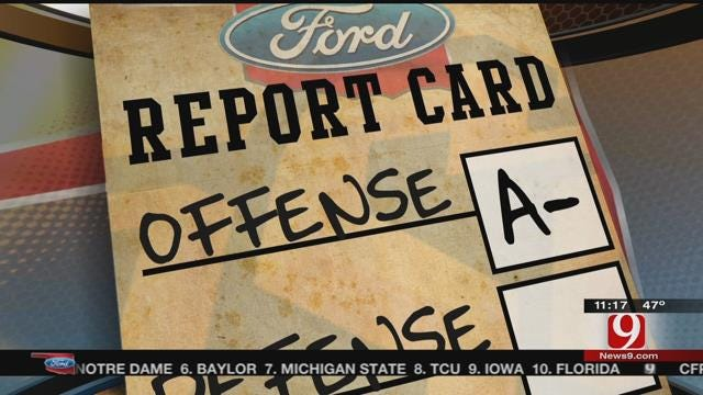 Report Cards For OU, OSU And Tulsa