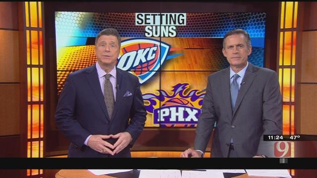 Thunder Reporter Steve McGehee Reports From The Peake