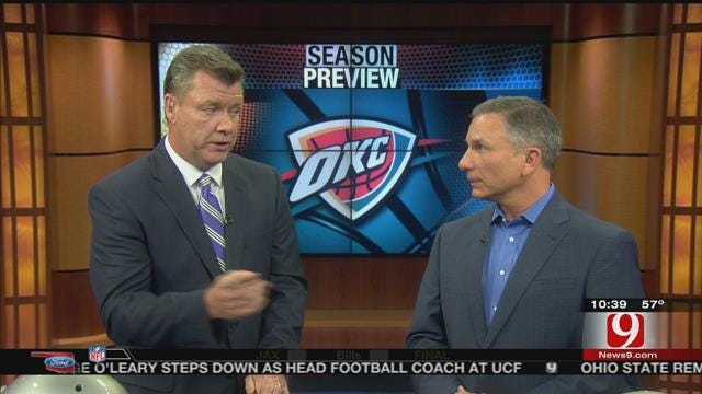 Steve McGehee And Matt Pinto Preview Thunder Season