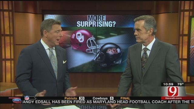 More Suprising Record: OU or OSU?
