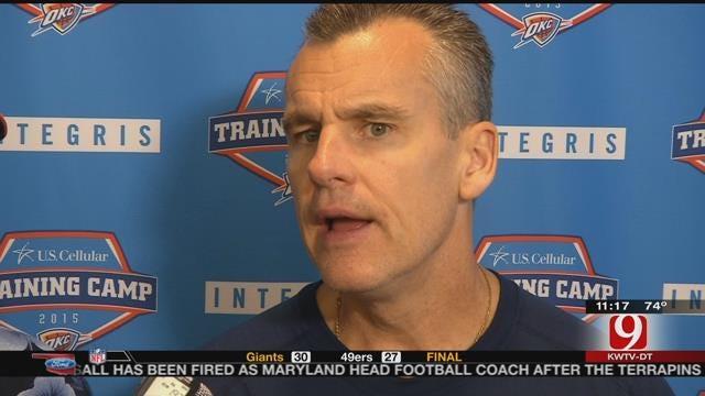 Steve Talks Thunder Basketball