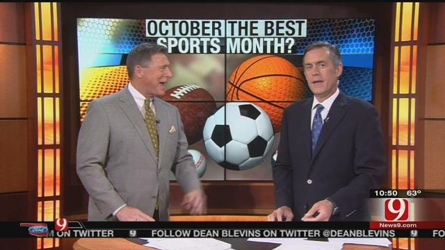 Is October Best Sports Month?