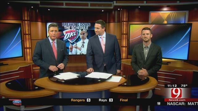ESPN's Royce Young Talks Thunder Schedule