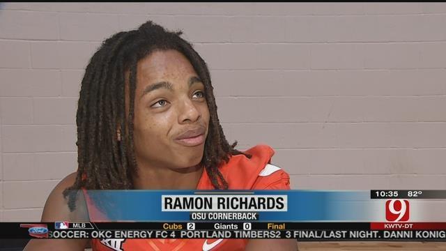 Ramon Richards Calls Out Mason Rudolph