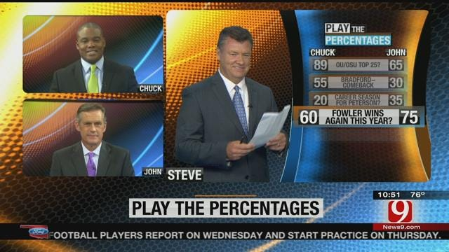 John And Chuck Play The Percentages