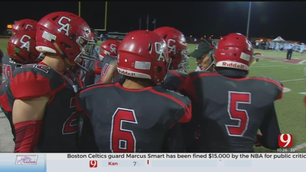 High School Football: Bishop McGuiness At Carl Albert