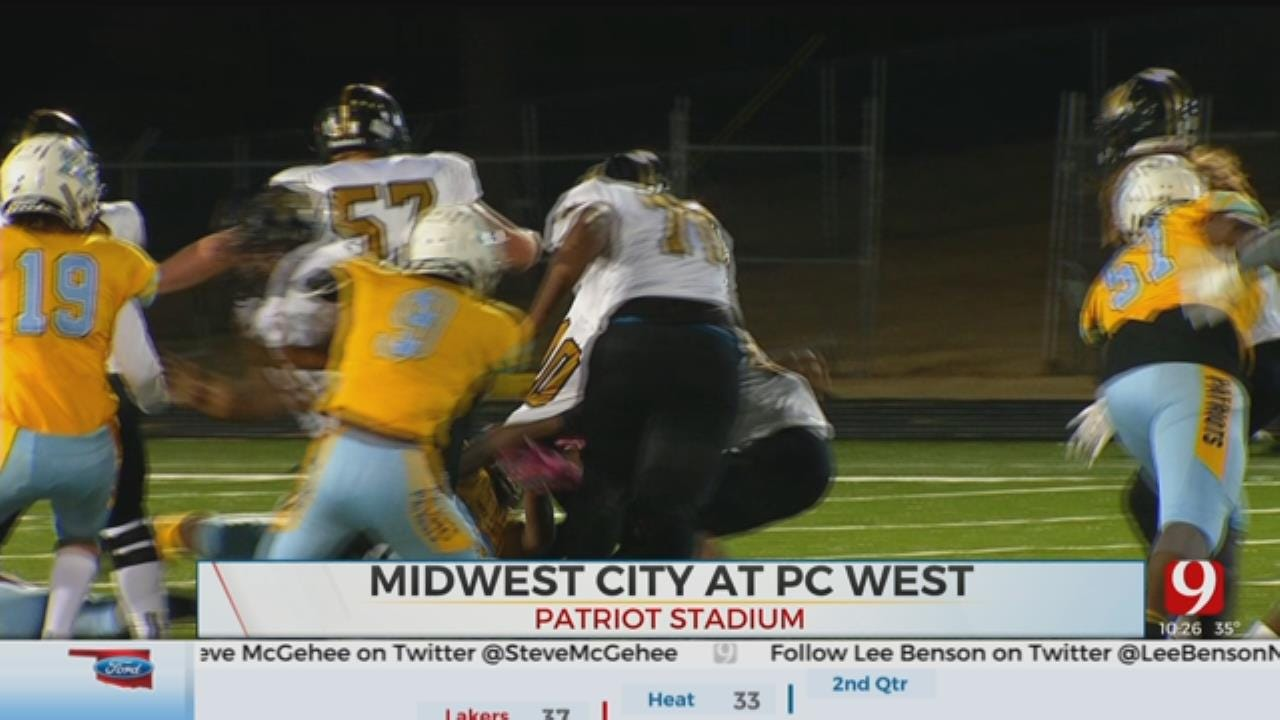 Midwest City Rolls Past Putnam City West