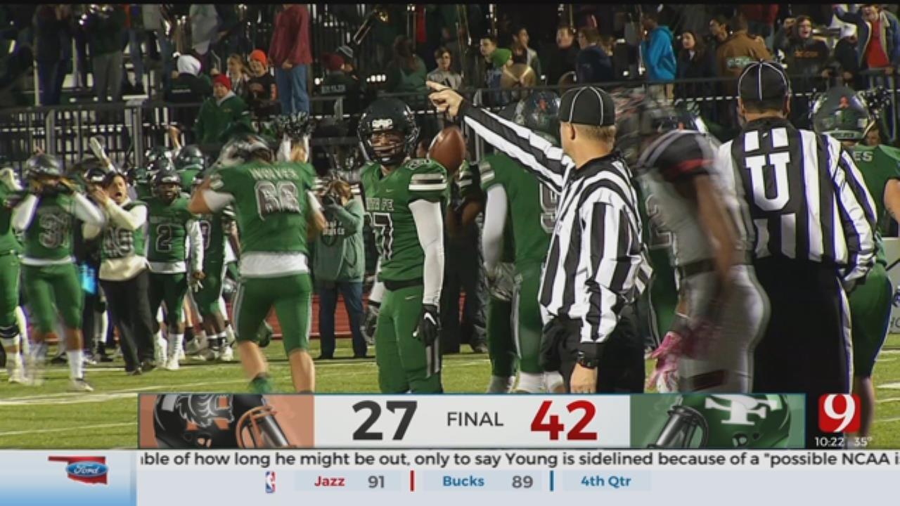 High School Football Roundup: Norman Vs. Edmond Santa Fe