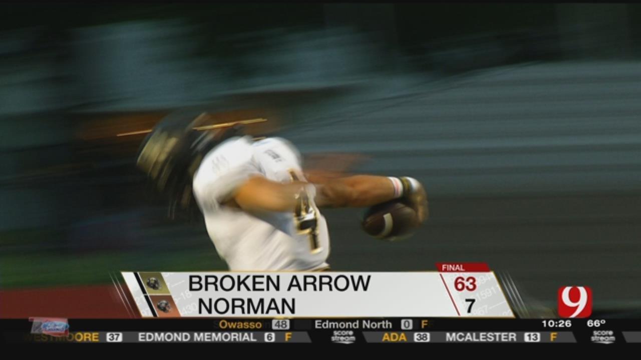 Broken Arrow Dominates Norman