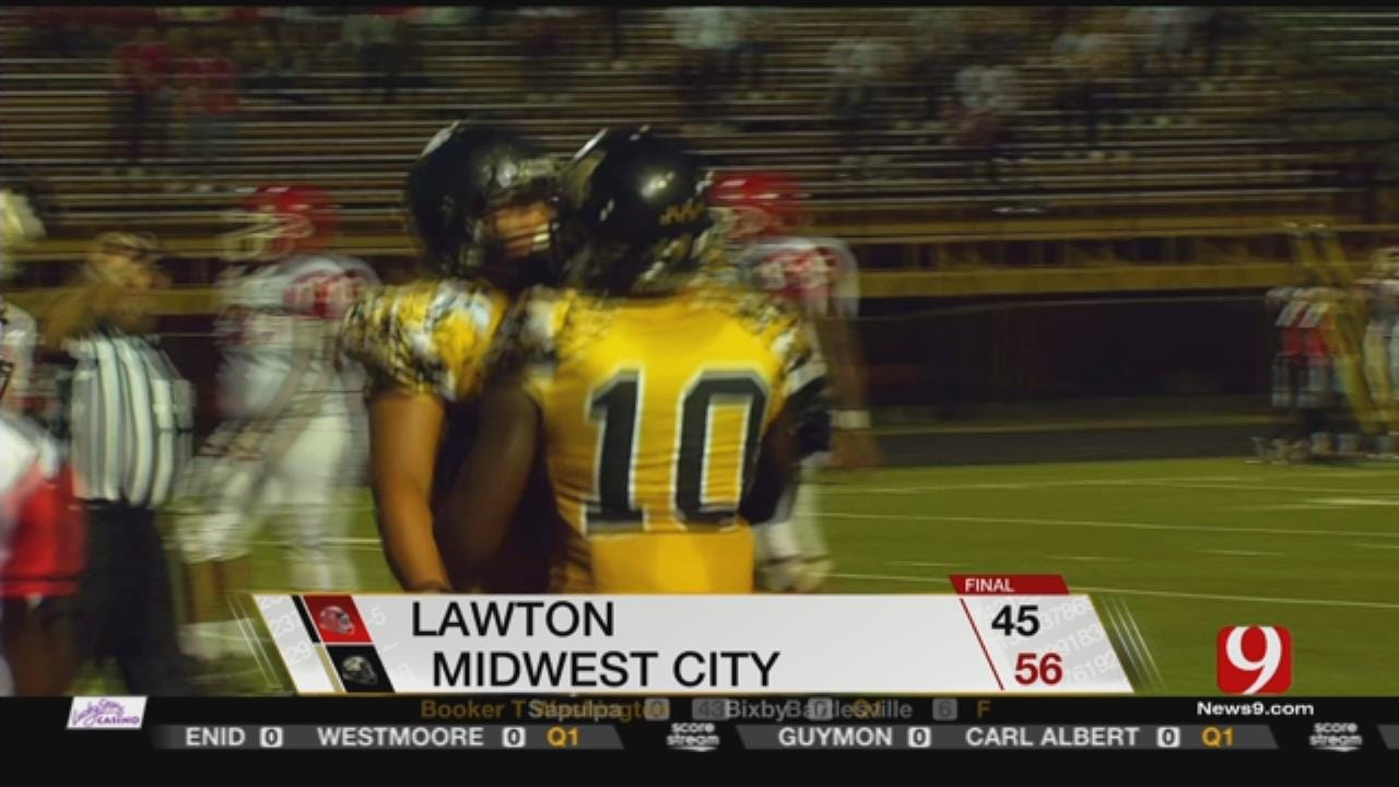 Midwest City Edges Lawton In High Scoring Matchup