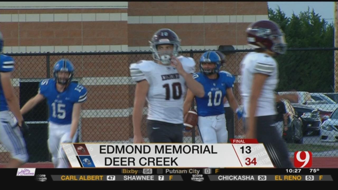 Edmond Memorial At Deer Creek