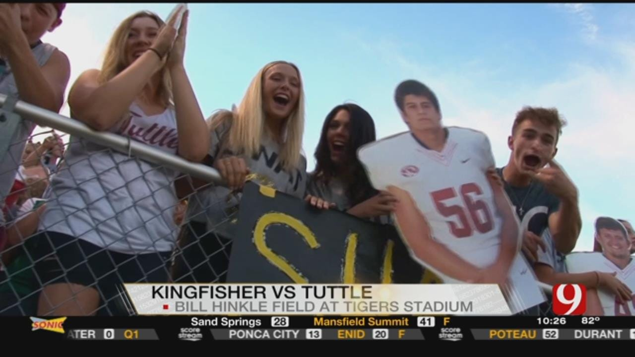 Tuttle Knocks Off Kingfisher