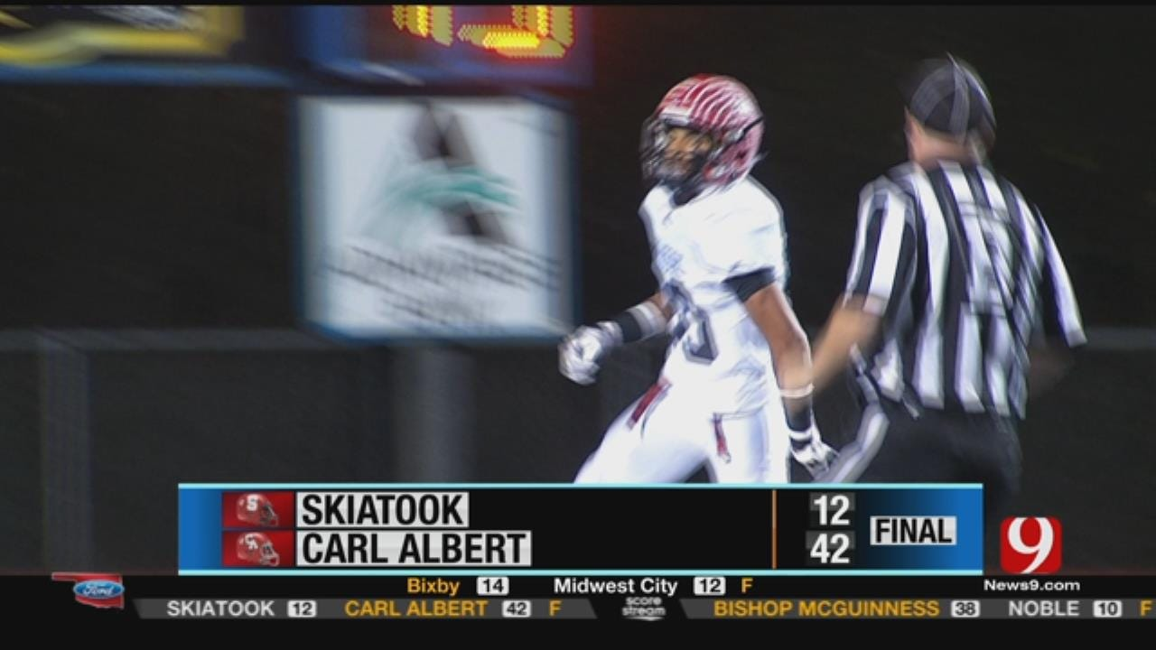 Carl Albert 42 vs. Skiatook 12