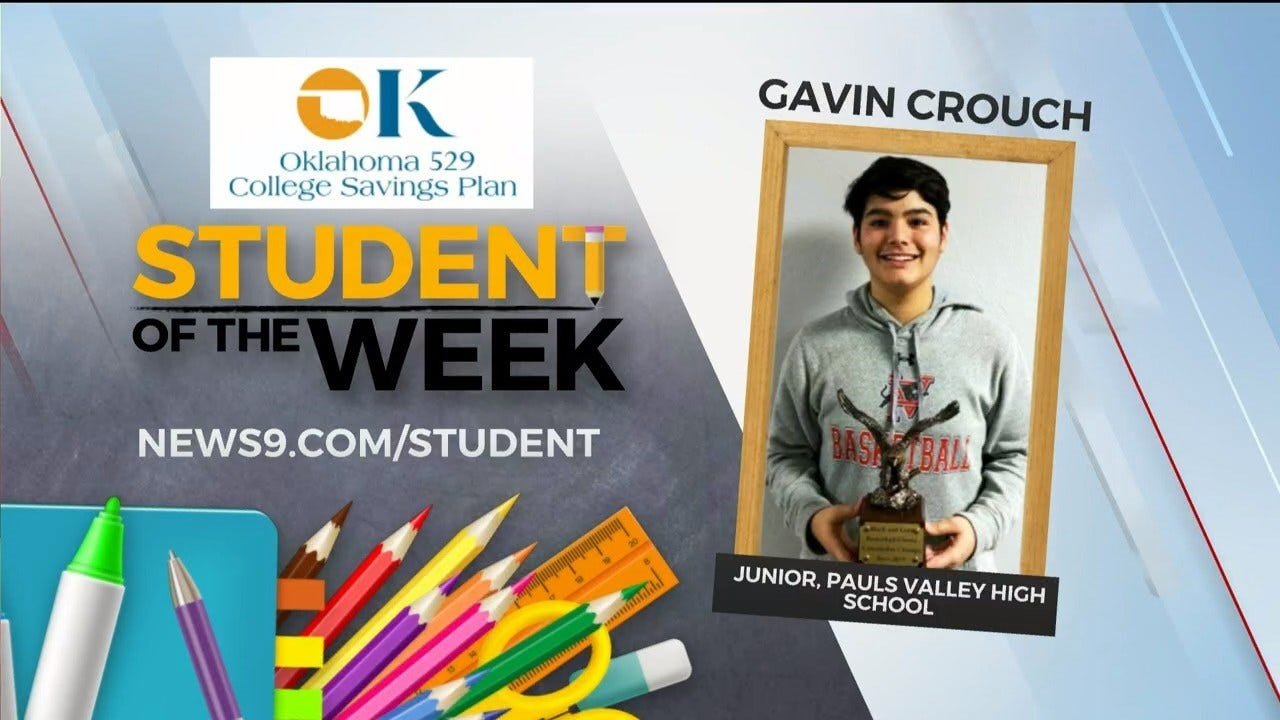 Student Of The Week: Gavin Crouch, Pauls Valley High School