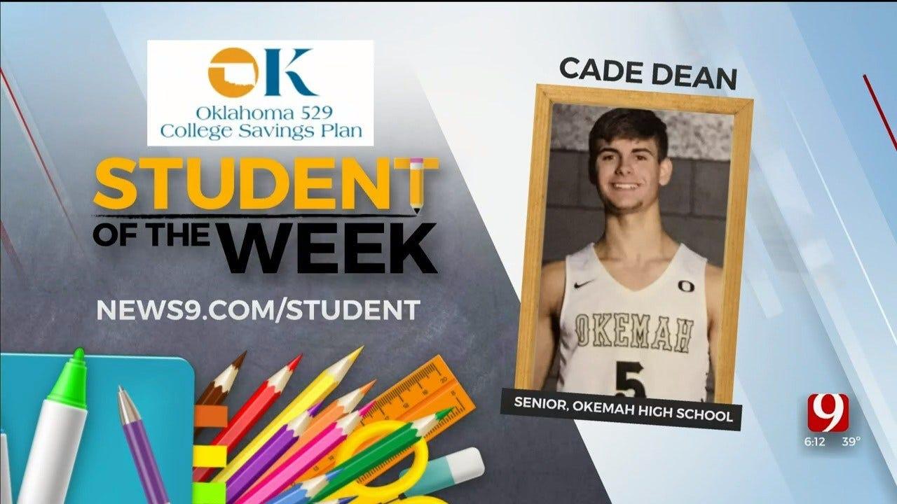 Student Of The Week: Cade Dean, Okemah Senior