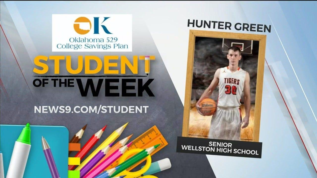 Student Of The Week: Hunter Green, Wellston Senior