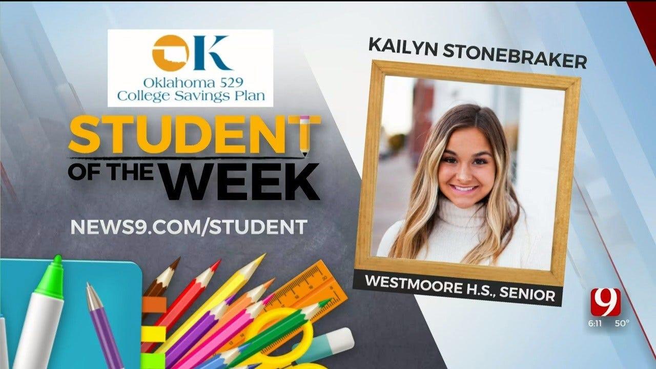Student Of The Week: Kailyn Stonebraker, Westmoore Senior