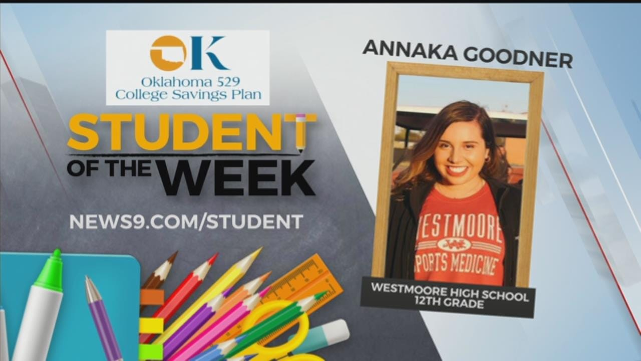 Student Of The Week: Westmoore HS Senior Annaka Goodner