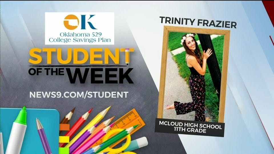 Student Of The Week: Trinity Frazier, McLoud High School