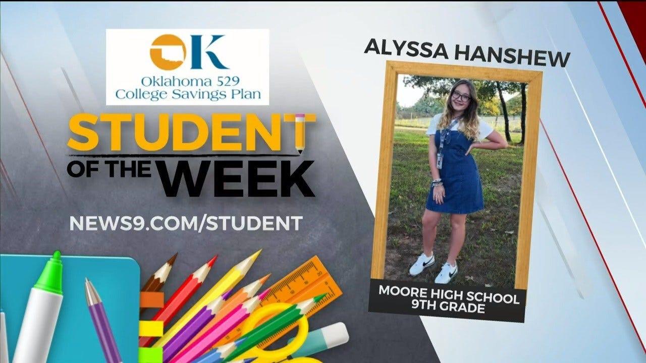 Student Of The Week: Alyssa Hanshew, Moore High School