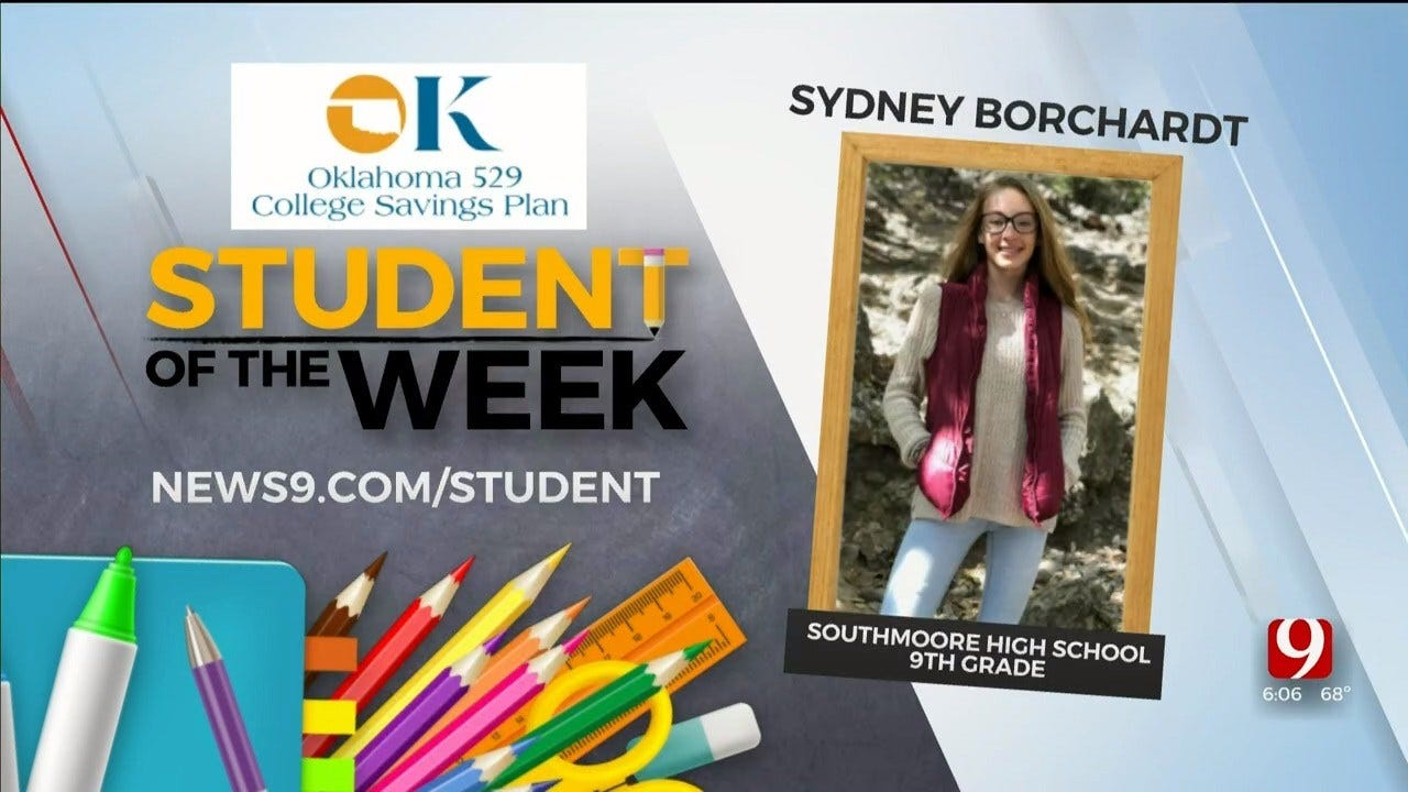 Student Of The Week: Sydney Borchardt, Southmoore High School