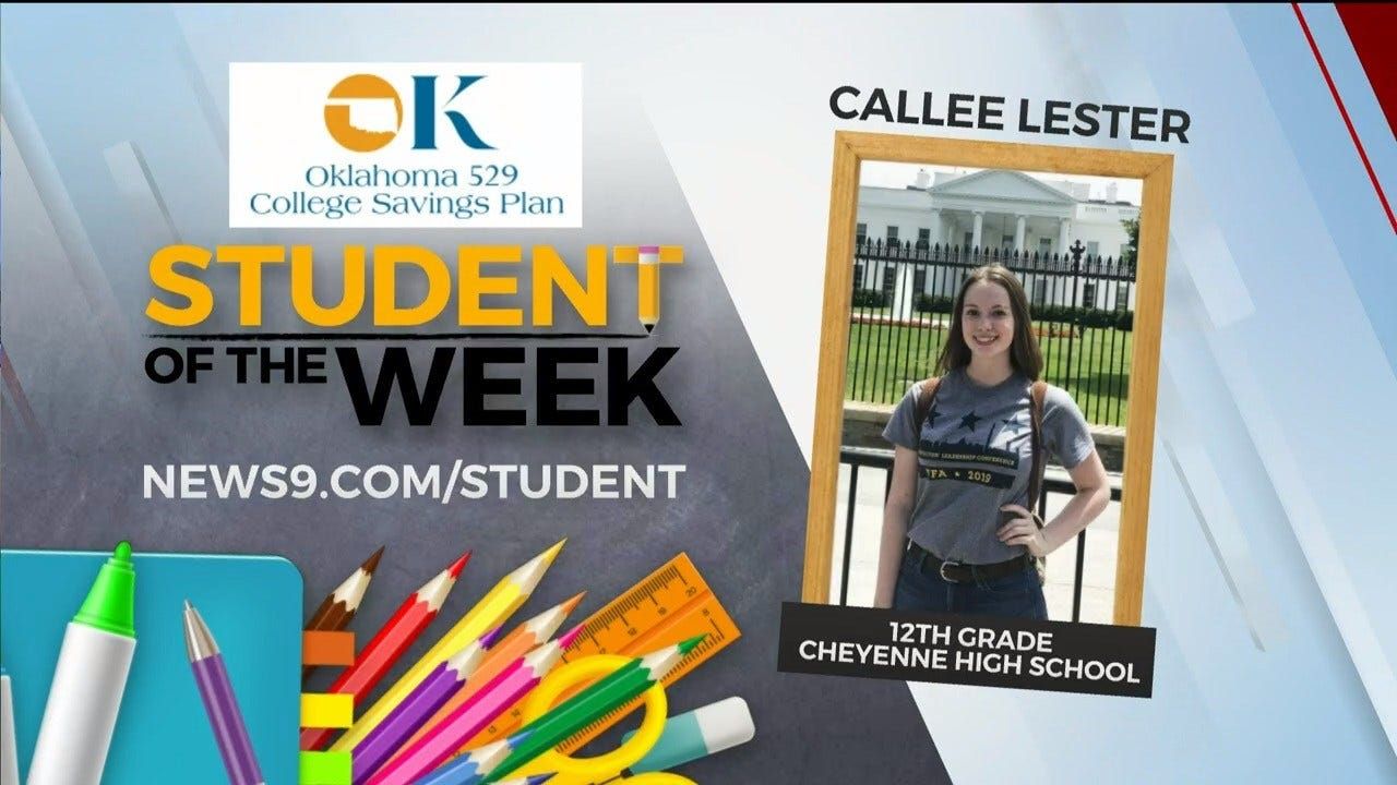 Student Of The Week: Callee Lester From Cheyenne High School