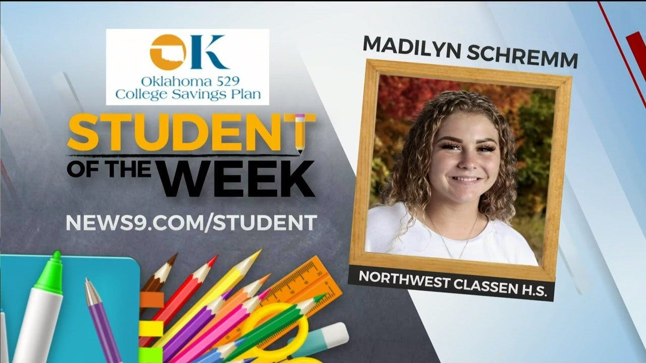 Student Of The Week: Madilyn Schremm From Northwest Classen HS